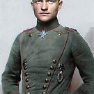 Manfred von Richthofen, the Red Baron by Marina Amaral