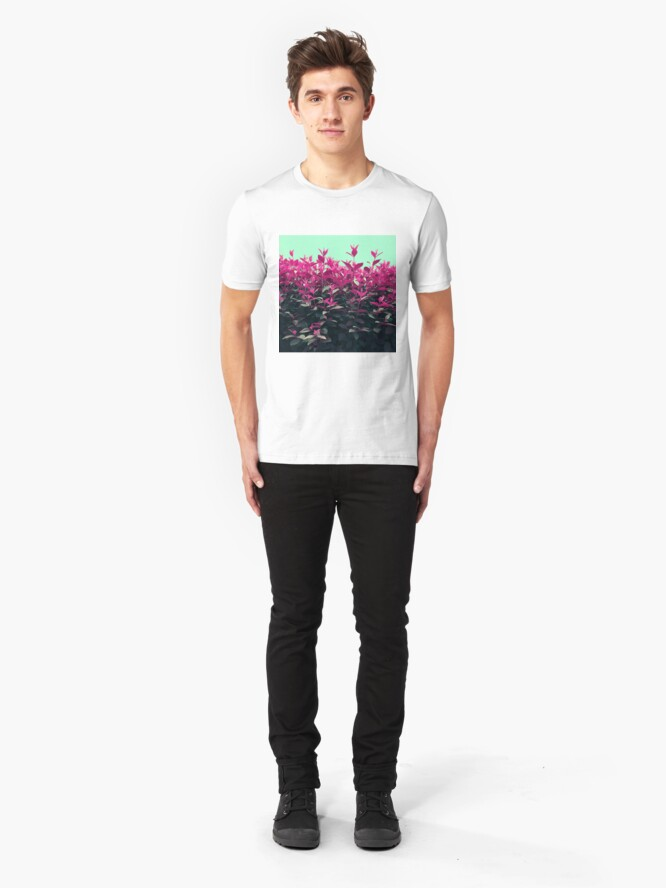 Alternate view of Pink Spring Slim Fit T-Shirt