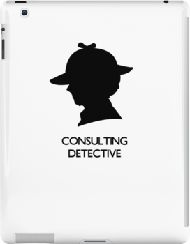 Consulting Detective Sherlock Shirt - Light by jlechuga
