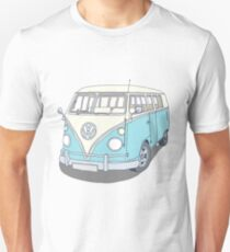Split screen camper van Unisex T-Shirt
