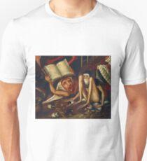 Hellish Creatures details from Hieronymus Bosch Unisex T-Shirt
