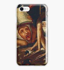 Hellish Creatures details from Hieronymus Bosch iPhone Case/Skin