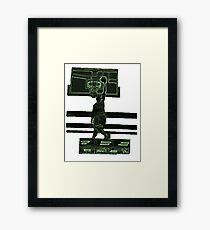 Dunk Man Framed Print