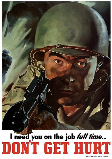 I Need You On The Job Full Time -- WWII by warishellstore