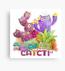 Catcti Canvas Print