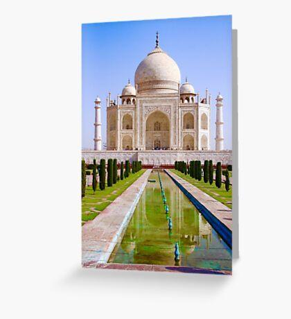 The Taj Greeting Card