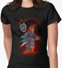 NIOH SAMURAI JACK Mashup  Womens Fitted T-Shirt