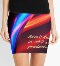 Stark Reality Neon Mini Skirt