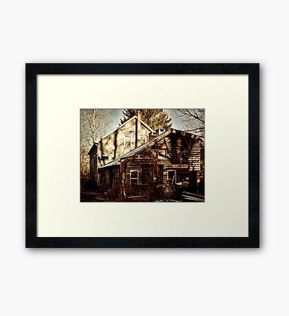 Alligerville Blacksmith Framed Print
