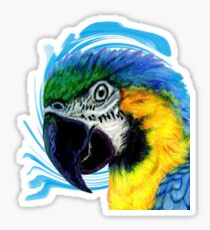 The Macaw Sticker