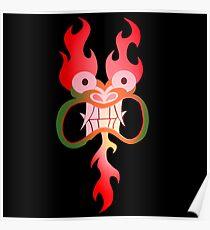 The Face Of Demon Aku Poster