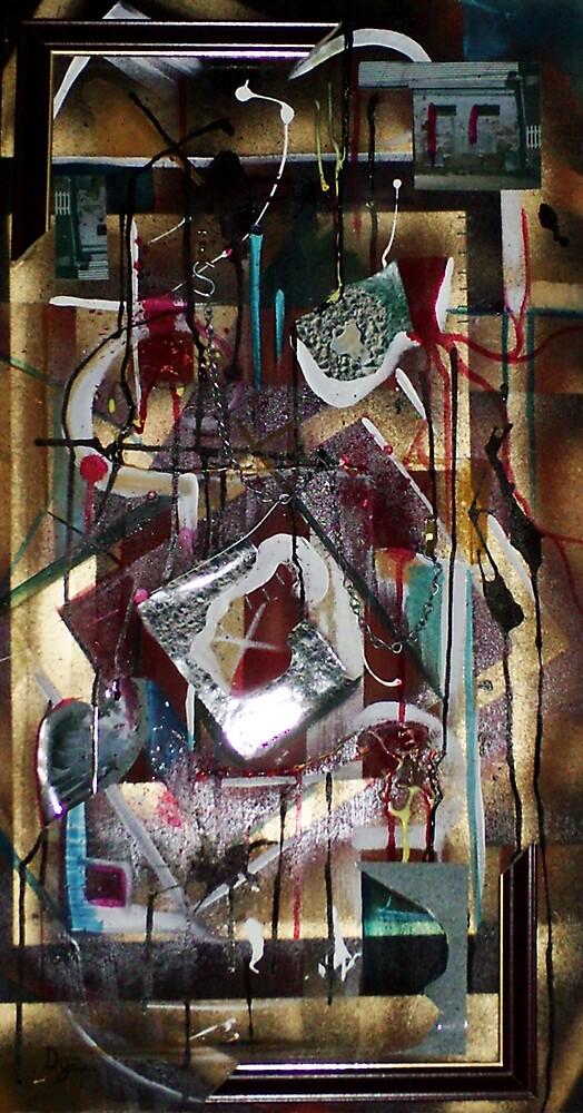 Dislocation (Mixed Media)- by Robert Dye