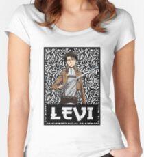 Levi Logo v2 Women's Fitted Scoop T-Shirt