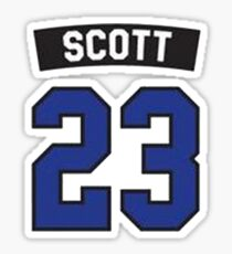 scott 23 Sticker