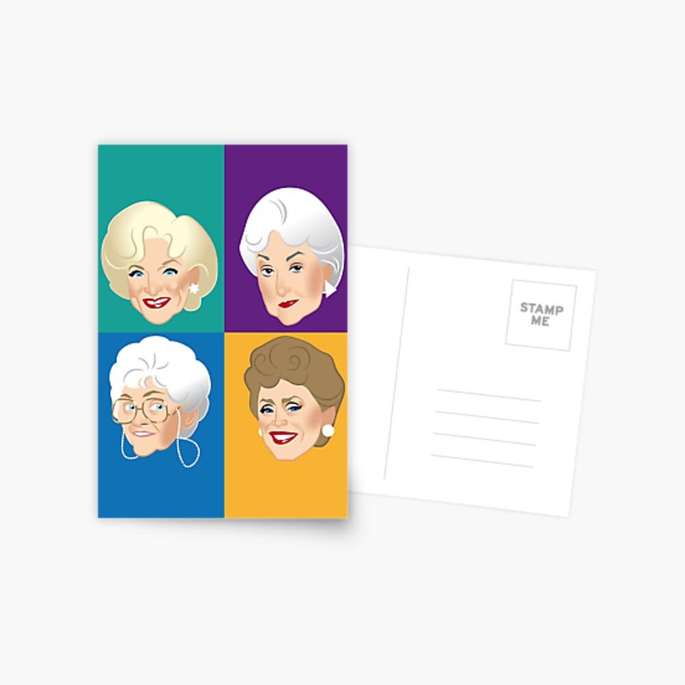 Freunde & Vertraute Postkarte