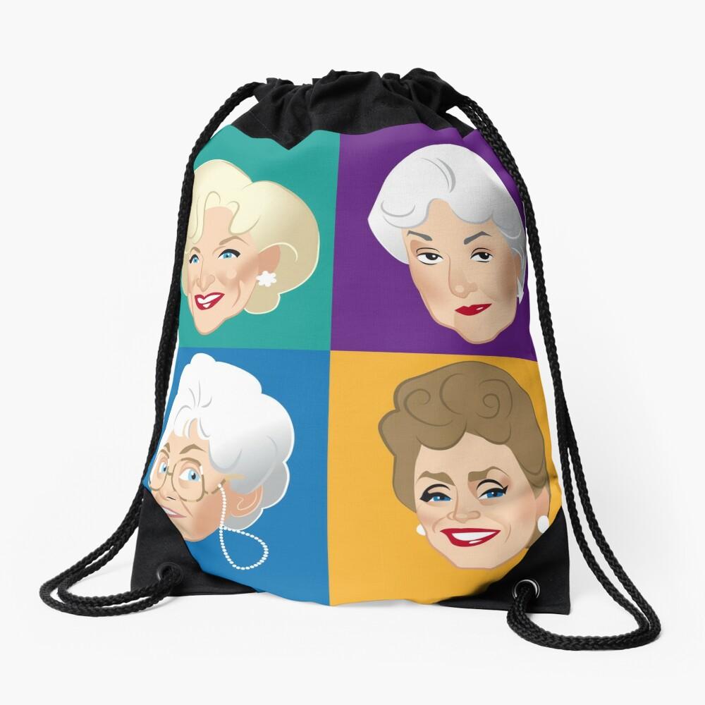Pals & Confidants Drawstring Bag