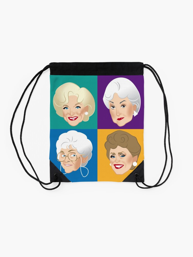Alternate view of Pals & Confidants Drawstring Bag