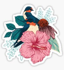 Barn Swallows Sticker