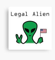 Legal Alien Canvas Print