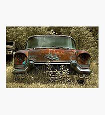 Abandoned 1957 Cadillac Photographic Print