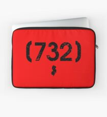 Area Code 732 New Jersey Laptop Sleeve