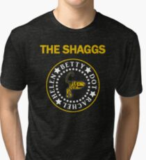 The Shaggs - Ramones style Tri-blend T-Shirt