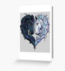 Love Horses Greeting Card