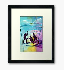 or something for the Baseball player/fan for Christmas? Framed Print
