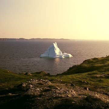 Iceberg along the coast by colintobin