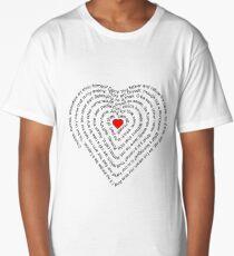 Wherefore art thou Romeo? Long T-Shirt