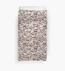 Dachshunds or Sausage Dogs Duvet Cover