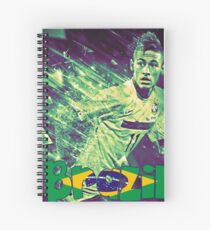Cuaderno de espiral Neymar Brasil