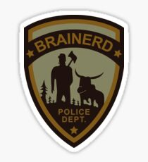 Brainerd Police Department - Fargo (1996) Sticker