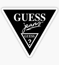 Vintage Guess Jeans Sticker