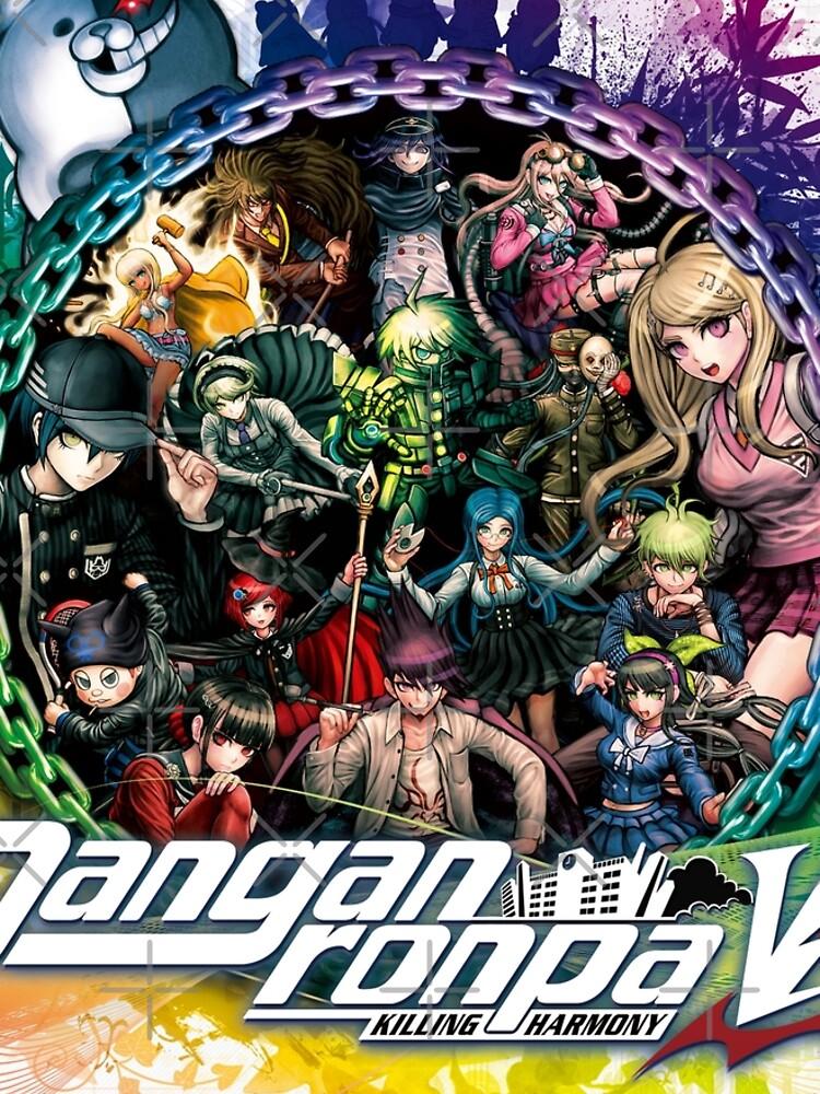 Danganronpa V3 Key Art by GameGeekzDesign