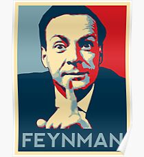 Richard P. Feynman, Theoretical Physicist Poster
