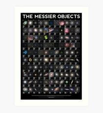 The Messier Objects Art Print