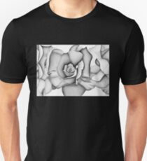 The First Flower (Tonal Drawing) Unisex T-Shirt
