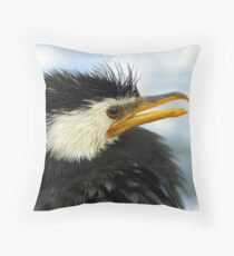 Does It Make Any Difference! - Shag/Cormorant - Queenstown NZ Throw Pillow