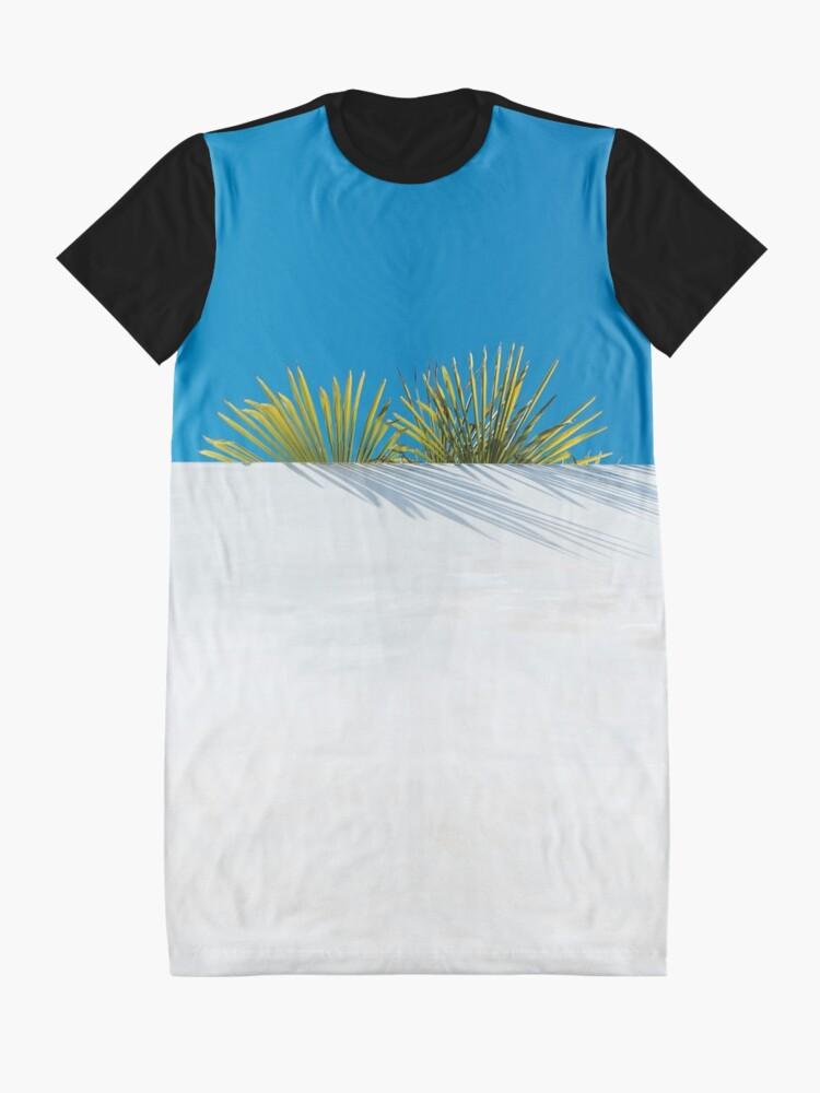 Alternative Ansicht von Über der tropischen Gartenmauer T-Shirt Kleid