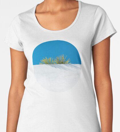 Über der tropischen Gartenmauer Frauen Premium T-Shirts