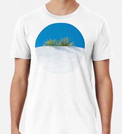 Über der tropischen Gartenmauer Premium T-Shirt