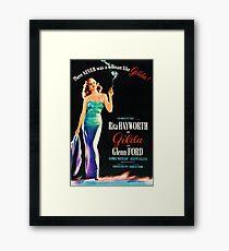 Gilda Framed Print