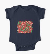 Little Red Flower Garden Kids Clothes