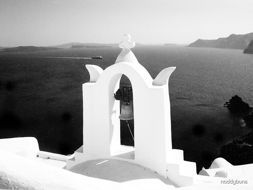 Santorini, Greece by noddybuns
