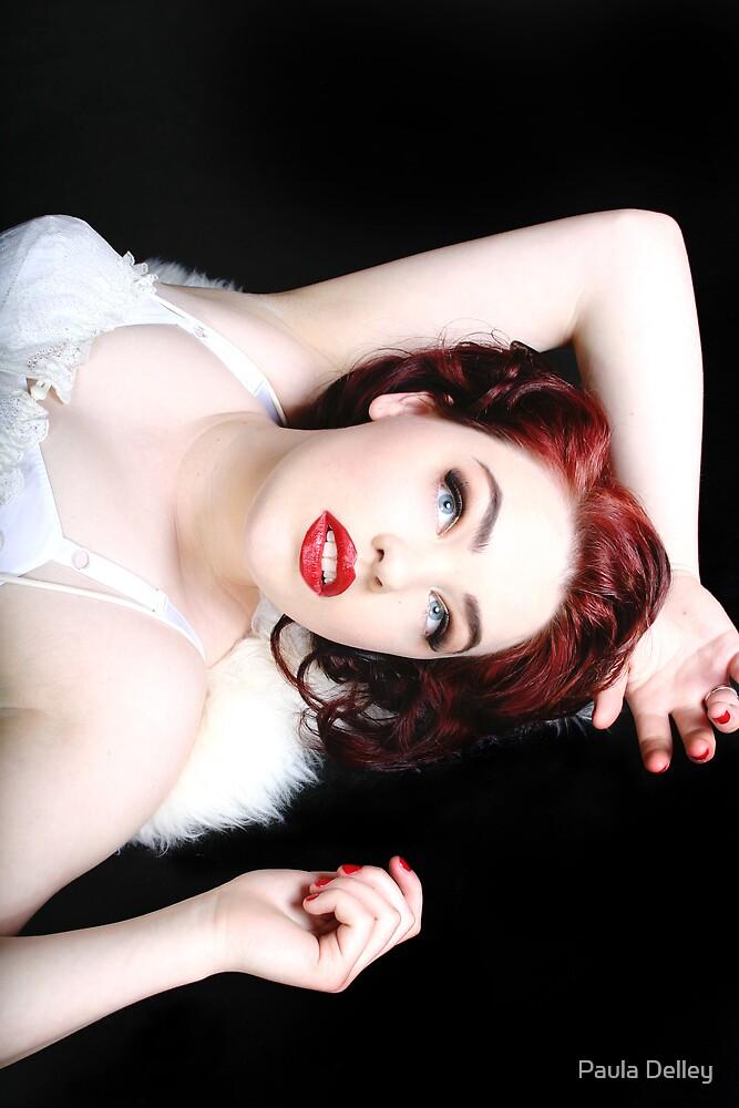 Red Headed Beauty by Paula Delley