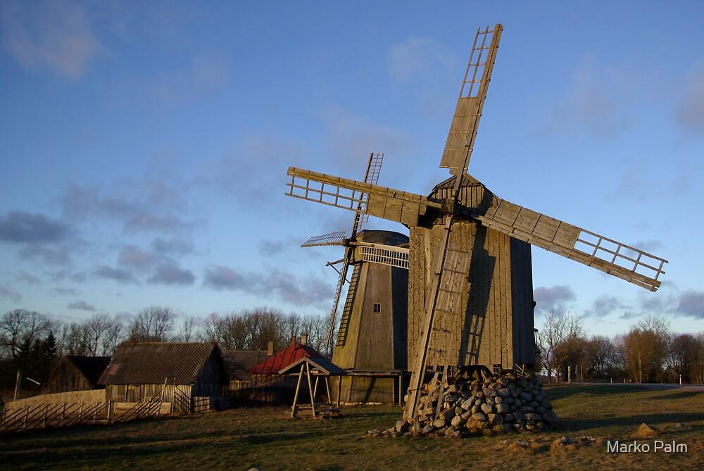 Old Windmills by Marko Palm