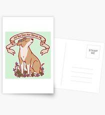 Inspirational Bull Terrier Postcards