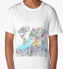 world map Long T-Shirt