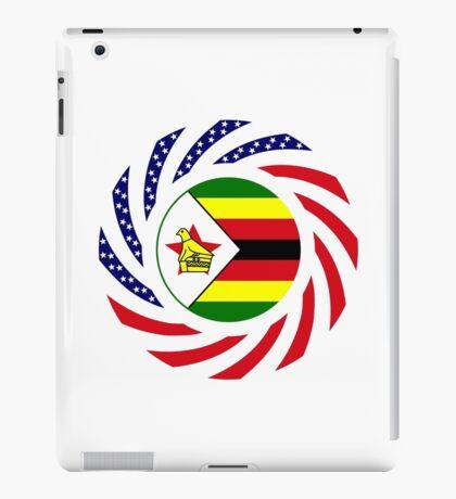 Zimbabwean American Multinational Patriot Flag Series iPad Case/Skin